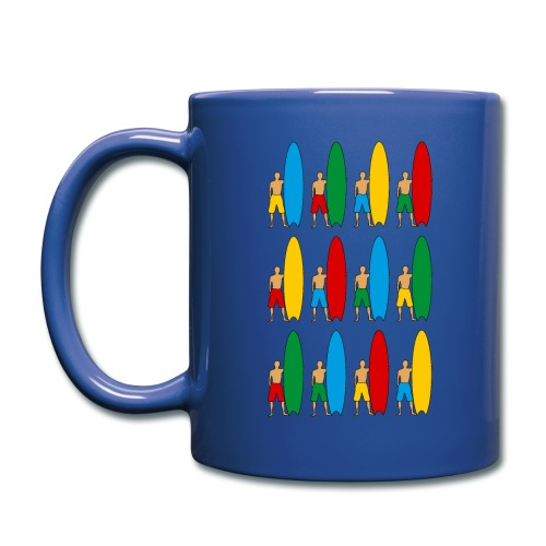 Surfing - Full Colour Mug