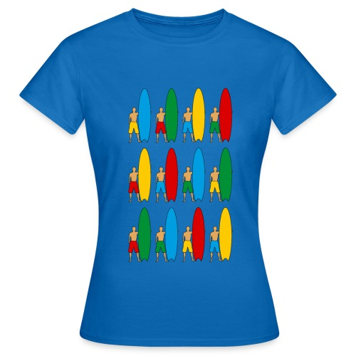 Surfing - Women's T-Shirt