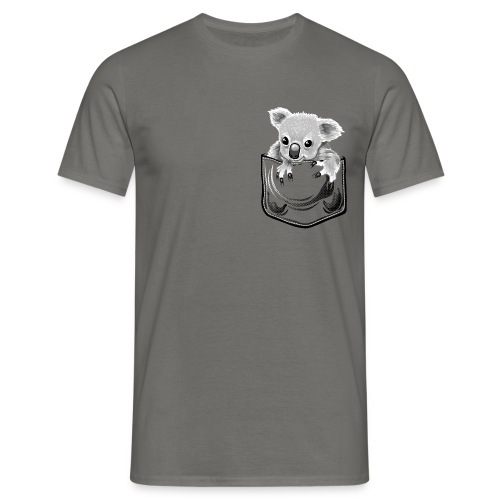 Koala in the pocket - Men's T-Shirt