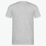 T-shirt Si papa ne peut pas le cuisiner, personne ne peut gris chiné par Tshirt Family