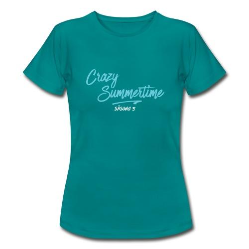 DAM tröja vit text - T-shirt dam