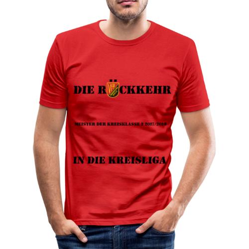 Meistershirt VfR Herren slim fit - Männer Slim Fit T-Shirt