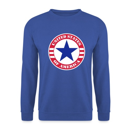 USA Star - Sweat-shirt Homme