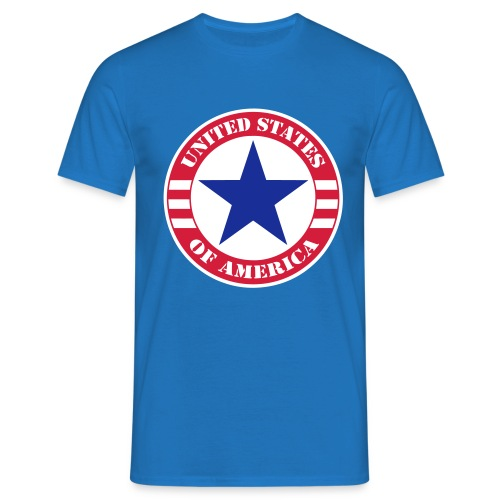 USA Star - T-shirt Homme