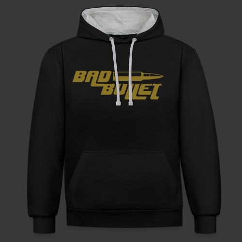 Bad Bullet (2 Sided Print) (Fan Edit) - Kontrast-Hoodie