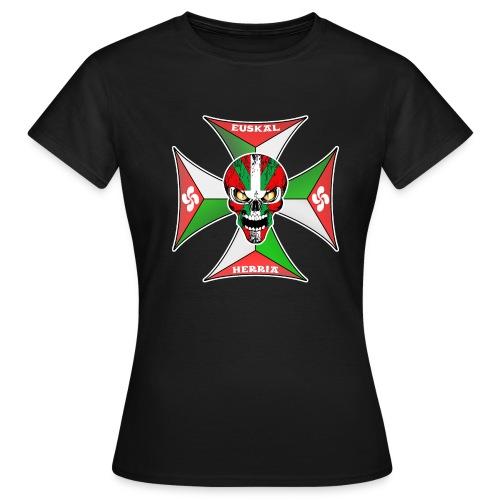 Euskal Herria cross - T-shirt Femme