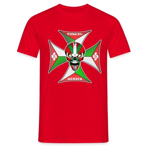 Euskal Herria cross - T-shirt Homme