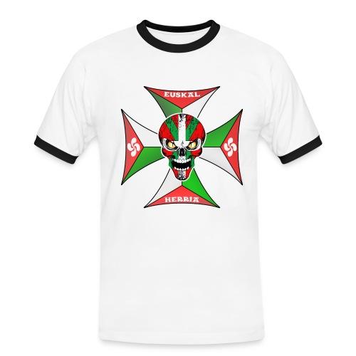 Euskal Herria cross - T-shirt contrasté Homme