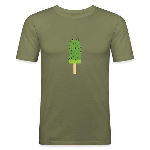 Cactus mannen slimfit - slim fit T-shirt