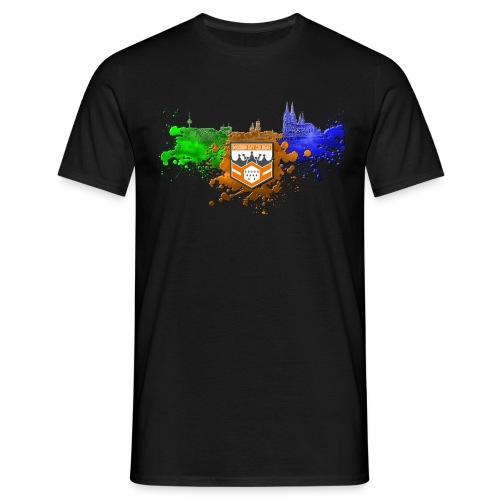 Männer Shirt MD CGN ColorSplash - Männer T-Shirt