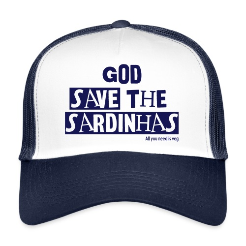 God Save the Sardinhas - Trucker Cap