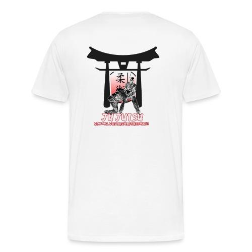 Ju-Jutsu, wenn mal wieder einer Stress macht - Männer Premium T-Shirt