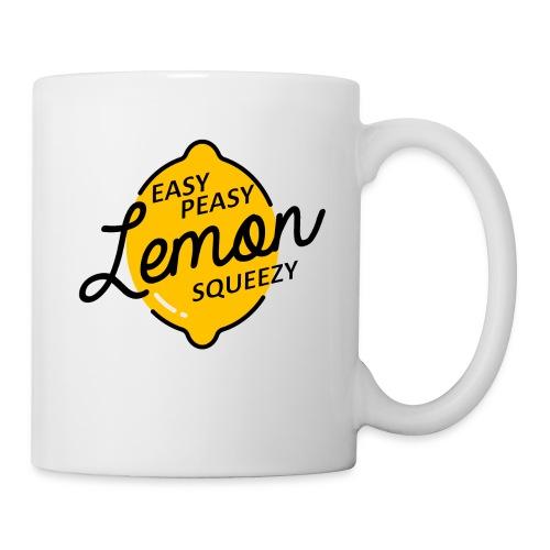 Mug Easy Peasy Lemon Squeezie  - Mug blanc