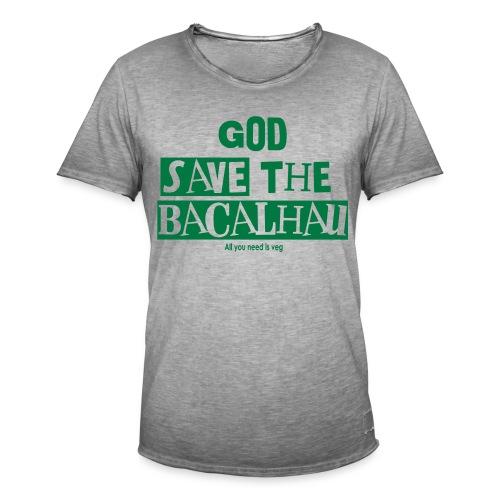 God Save the Chickens - Männer Vintage T-Shirt