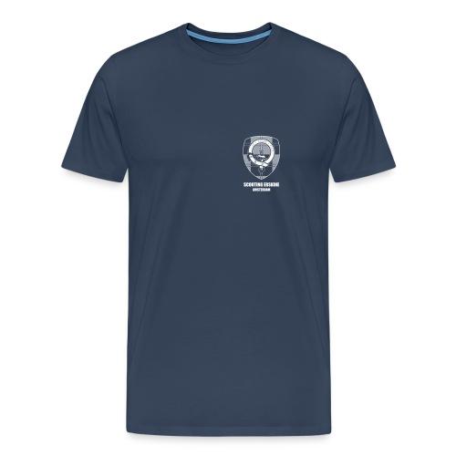 Scouting Erskine - Navy T-shirt (m/v) - Mannen Premium T-shirt