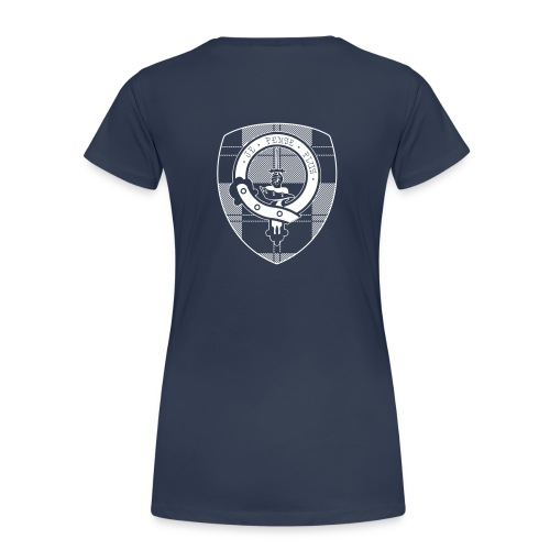 Scouting Erskine - Navy T-shirt (v) - Vrouwen Premium T-shirt