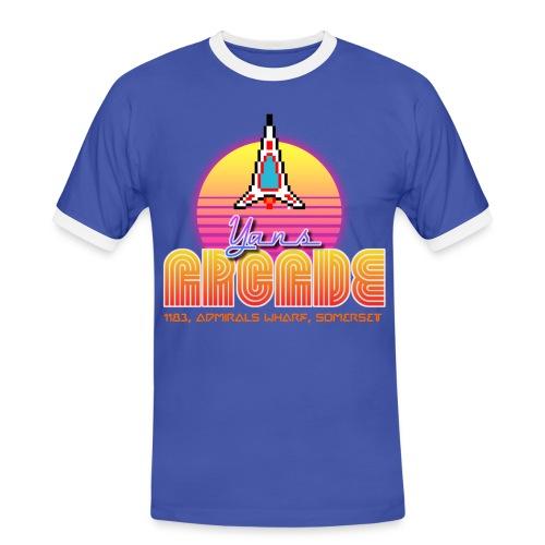 Boys Yans Arcade 'neon' - Men's Ringer Shirt