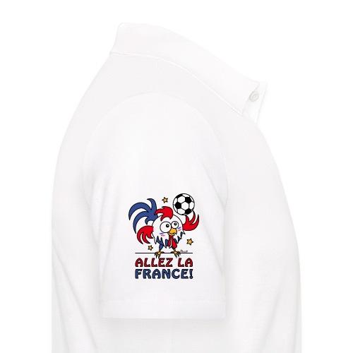 Polo Homme, Coq Gaulois, Allez la France - Polo Homme