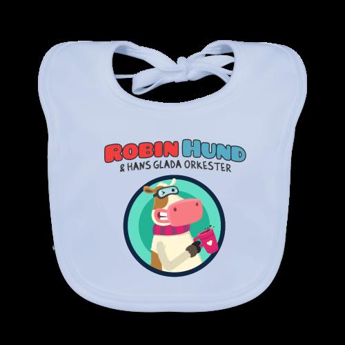 Robin Hund babyhaklapp - Vauvan ruokalappu