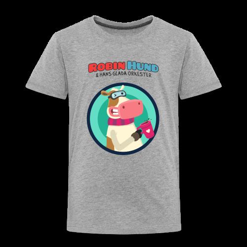 Barnens Robin Hund t-skjorta - Lasten premium t-paita