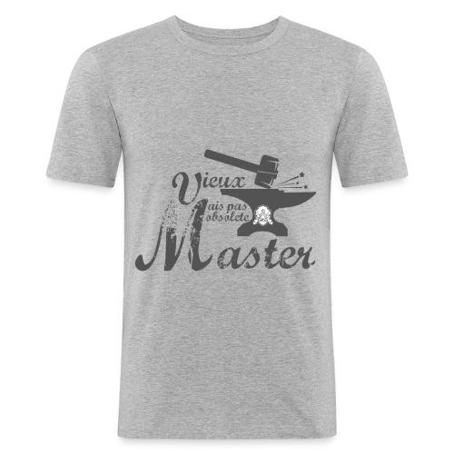 Tshirt Homme - Master gris - Fit - T-shirt près du corps Homme
