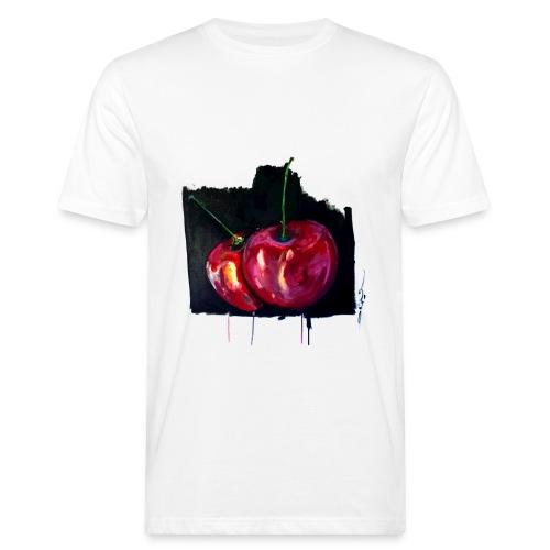 Tee-Shirt Homme - Les cerises par Jack M. - T-shirt bio Homme