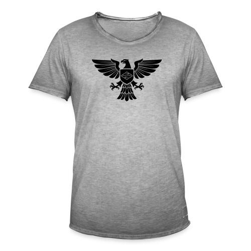 ZeterAdler - Männer Vintage T-Shirt