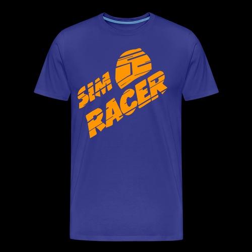 McGlück -simracer- - Männer Premium T-Shirt