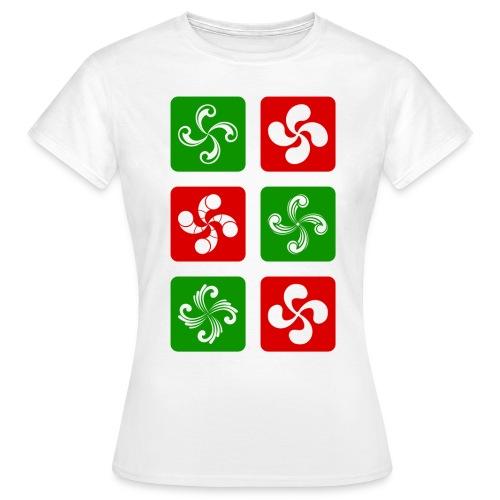 Croix Basques - T-shirt Femme