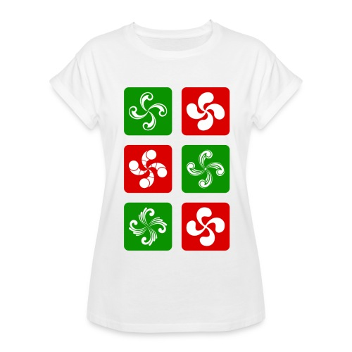 Croix Basques - T-shirt oversize Femme
