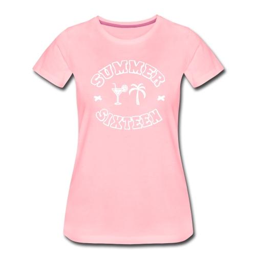 SUMMER FREEYZ - Frauen Premium T-Shirt