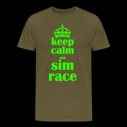McGlück -keep calm- - Männer Premium T-Shirt
