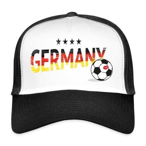 Fußball Fancap Deutschland - Trucker Cap