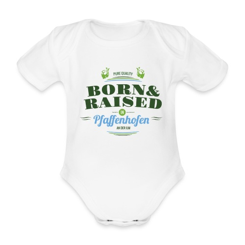Baby Bio-Kurzarm-Body, Strampler, Pfaffenhofen - Baby Bio-Kurzarm-Body
