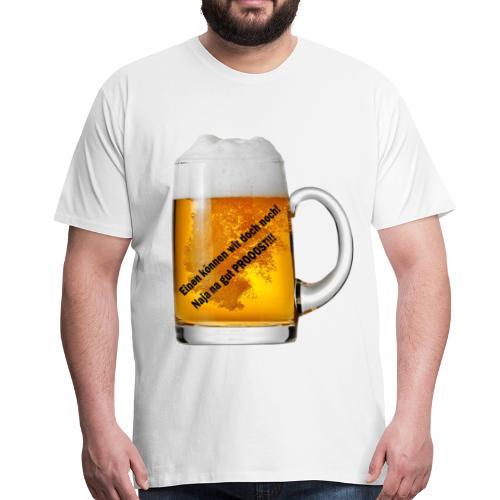 Shirt Aufdruck Bier Getränk - Männer Premium T-Shirt