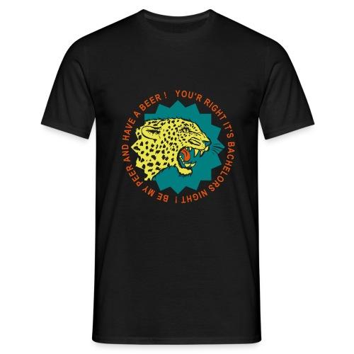 Party Leopard - Männer T-Shirt