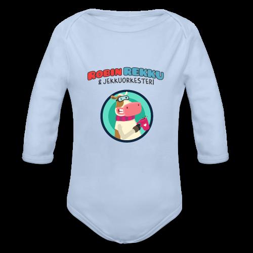 Pitkähihainen Robin Rekku vauva body - Vauvan pitkähihainen luomu-body
