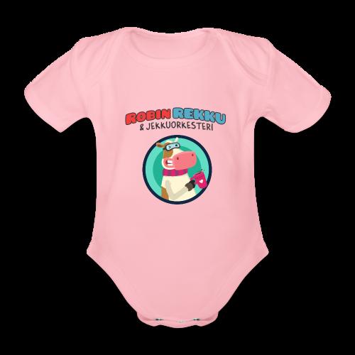Lyhythihainen Robin Rekku vauva body - Vauvan lyhythihainen luomu-body