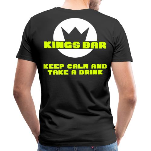 KINGS BAR MENS SHIRT  - Männer Premium T-Shirt