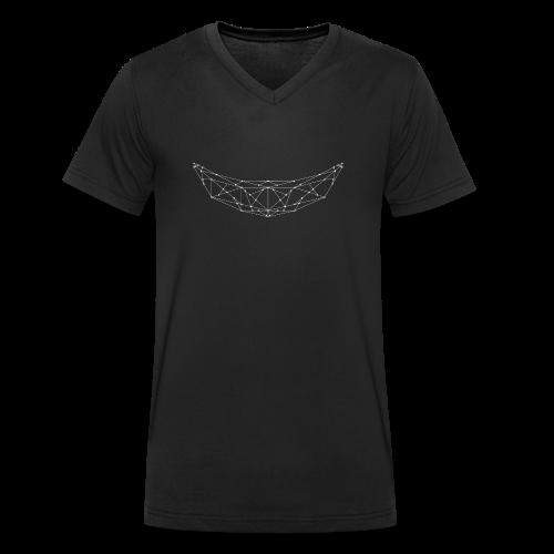 BANAAN/07 mannen v-hals bio - Mannen bio T-shirt met V-hals van Stanley & Stella