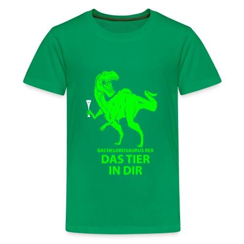 Bachelorosaurus - Teenager Premium T-Shirt