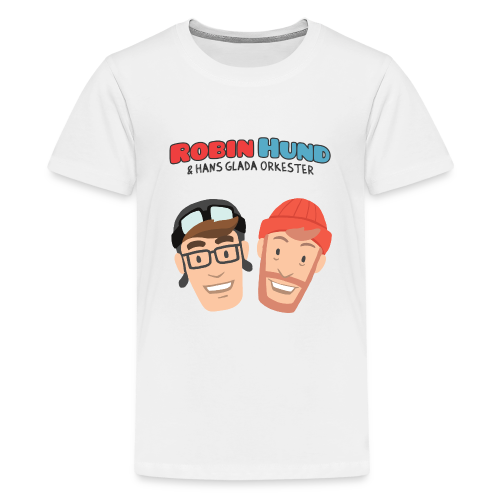 Barnens Robin Hund (Rob och Bob) t-skjorta - Teinien premium t-paita