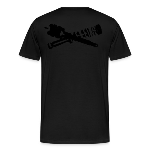 CROSSED STEALTH - Men's Premium T-Shirt