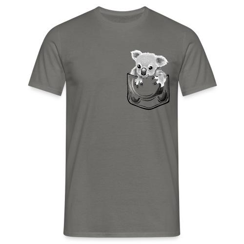 Koala in the pocket - Männer T-Shirt