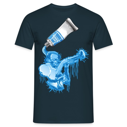 Jazz tube - Männer T-Shirt