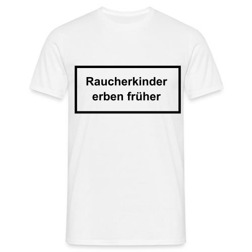 Raucher-Shirt - Männer T-Shirt