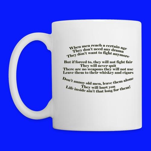 Grumpy Old Man     - Mug