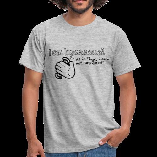 Byesexual - Männer T-Shirt