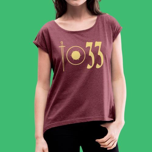 i.33 Girls - Frauen T-Shirt mit gerollten Ärmeln