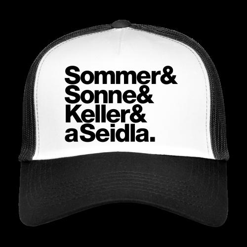 Sommer, Sonne, Keller und a Seidla - Trucker Cap - #BAMBERG-SHIRT - Trucker Cap